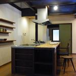 袋小路の長屋・U様邸<br />(リノベーション)<br />京都市・木造2階建