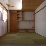 中庭を囲む家・I様邸<br>(新築)<br>京都市・木造2階建